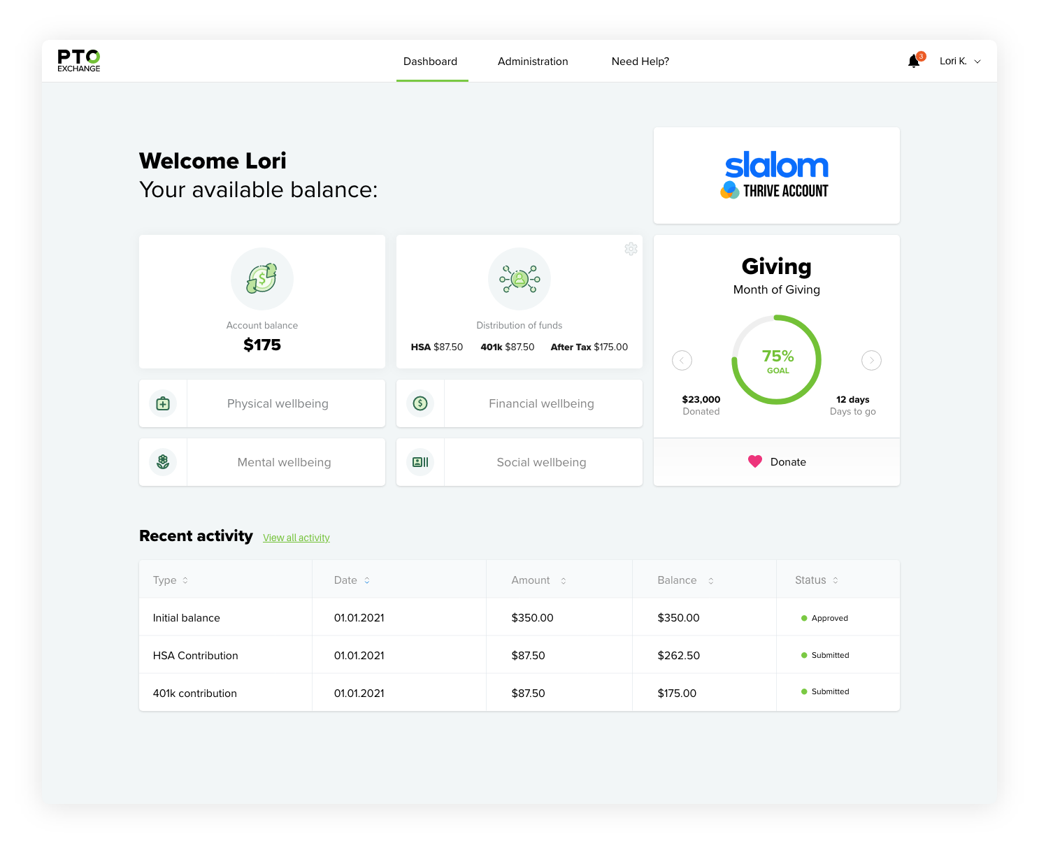 life-planning-account-dashboard-pto-exchange